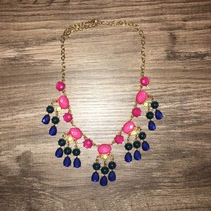 Multi color necklace